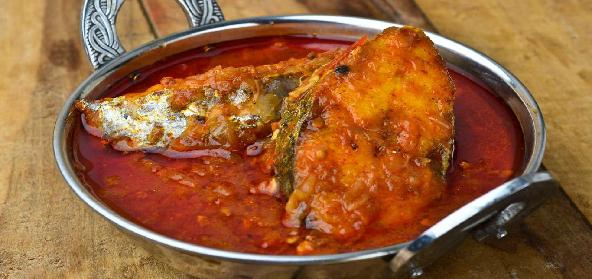 Tangy King Fish Seer Fish Curry Anglo Indian Non Vegetarian Recipe
