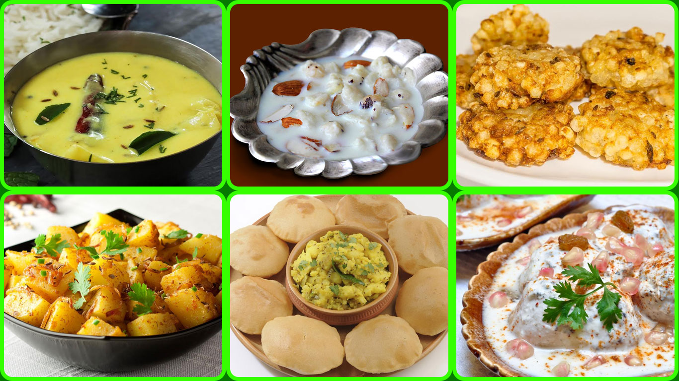 Navratri Vrat Recipes: 9-day Menu Plan